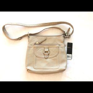 $129 Stone Mountain leather crossbody purse